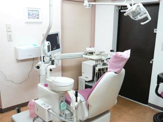 岸本歯科医院の診療室